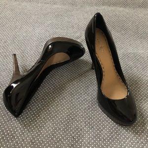 Coach Buffy Black Patent Leather Pumps Size 6
